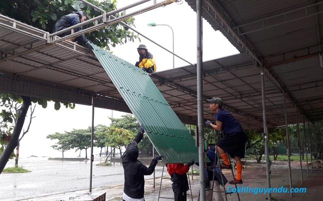 Thợ làm mái tôn tại quận Phú Nhuận