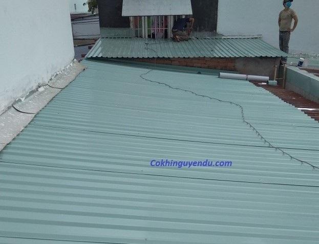 Làm mái tôn tại quận Phú Nhuận