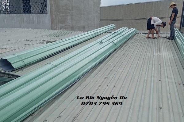 Thợ làm mái tôn uy tín tại quận Gò Vấp