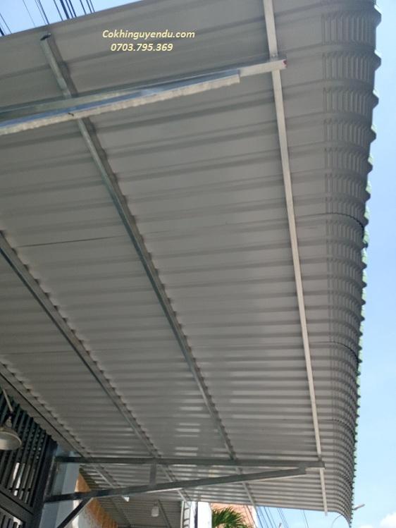Mái tôn tại Biên Hòa