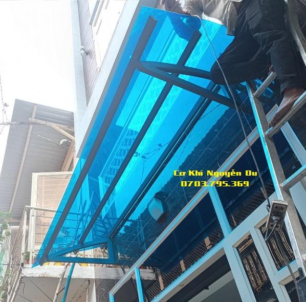 Thợ làm mái nhựa poly lấy sáng tại Biên Hòa