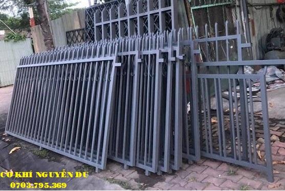 hàng rào sắt tại quận Thủ Đức